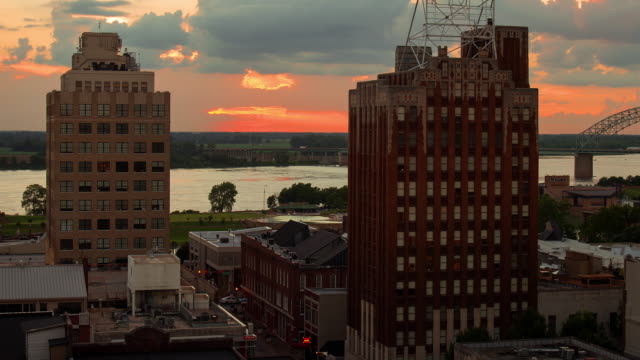 memphis near mississippi river - memphis tennessee stock videos and b-roll footage
