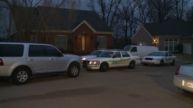 memphis tn police at crime scene after pastor and ridgeway high boy's basketball team coach jimmy mcclain was found murdered on february 22 2013 - pastor stock videos & royalty-free footage