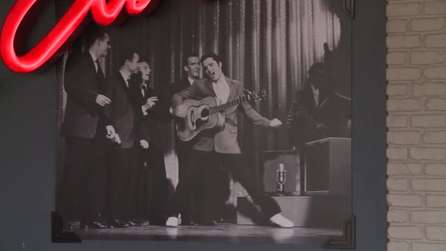 memphis, tn, u.s. - elvis presley memorabilia and outside views of graceland as it reopens after coronavirus closure on friday, may 15, 2020. - memphis tennessee stock videos & royalty-free footage
