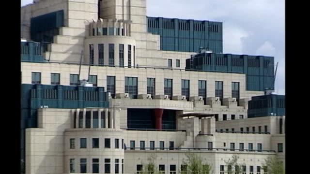 Men accused of planning 9/11 attacks plead guilty at Guantanamo Bay pretrial hearing R20090704 General view of MI6 building
