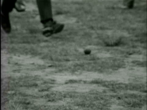 men and children taking part in the dutch clay pigeon shooting championships / tubbergen, overijssel, netherlands - tiro al piattello video stock e b–roll