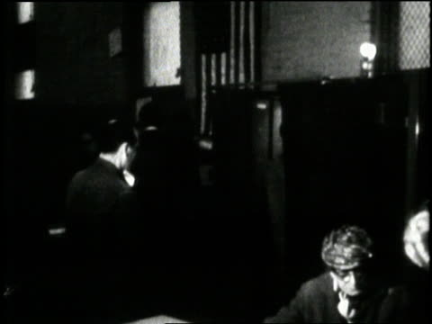 men and women take their turns in the voting booths during the 1968 presidential election - presidential election stock videos & royalty-free footage