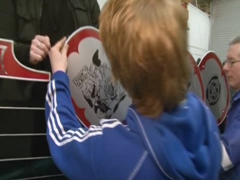 Men builds a replica Viking galley for the annual Up Helly Aa festival