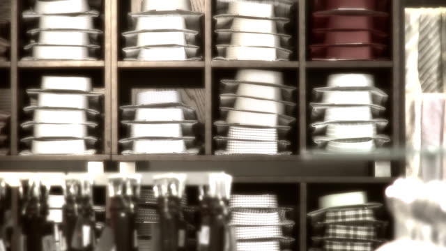 hd: men clothing store - cravat stock videos and b-roll footage