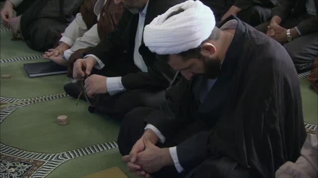 MS TU Men during Friday prayers in Imam Mosque, Esfahan, Iran