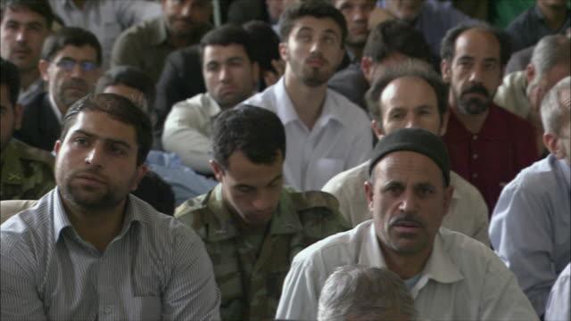 MS PAN Men during Friday prayers in Imam Mosque, Esfahan, Iran
