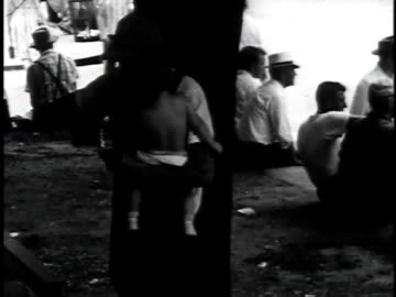1962 montage men looking for work gather in town / hazard, kentucky, united states - appalachia stock videos & royalty-free footage