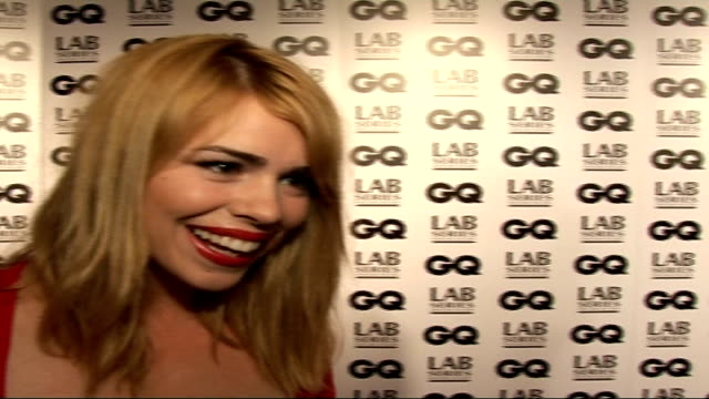 Interviews Billie Piper interview SOT Hope to work with David Tennant again` / David Walliams would be Man of the Year / talks of Justin Timberlake...