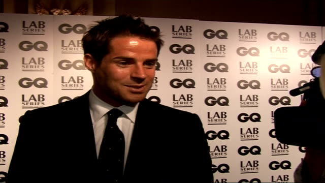Interviews Jame and Louise Redknapp interview SOT David Walliams would be Man of the Year and possibly BBC Sports Personality of the Year / Talks of...