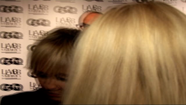 men of the year awards 2006: interviews; lulu interview sot - rod stewart would be man of the year - lulu singer stock videos & royalty-free footage