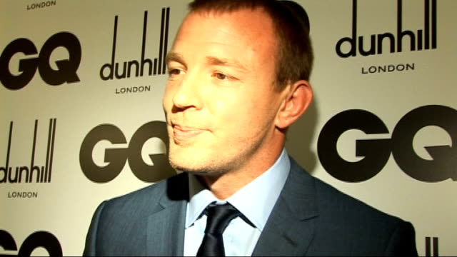 gq men of the year awards 2009 *** beware david walliams posing for photocall after collecting his award guy ritchie interview sot on winning best... - after life stock videos & royalty-free footage