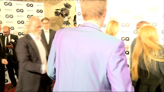 arrivals and interviews cumberbatch interview sot on how he relaxes vegging out travelling being at home / ringo starr arriving at gq awards with... - dress shoe stock videos and b-roll footage