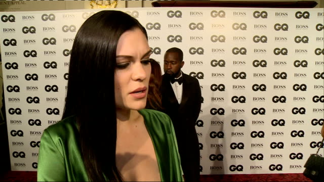 men of the year awards 2014: arrivals and interviews; kim kardashian west interview sot - i'm wearing ralph & russo / i try and sleep on the flight,... - sam west stock videos & royalty-free footage