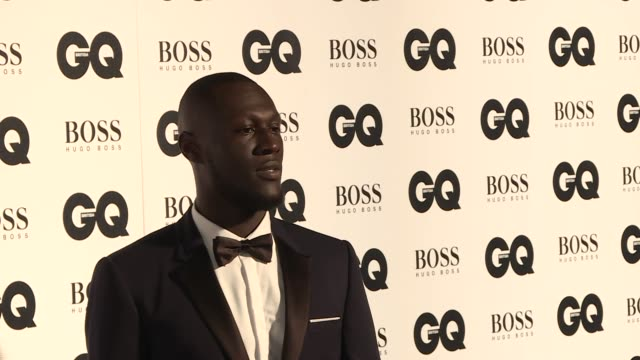 red carpet arrivals and interviews liam gallagher interview sot / stormzy / annabelle wallis / charlie xcx interview sot / jeremy clarkson / mark... - jeremy clarkson stock-videos und b-roll-filmmaterial