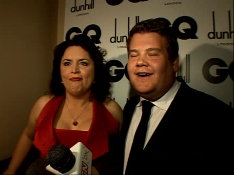 Red carpet interviews James Corden interview SOT The GQ award James Corden interview SOT What awards they're still waiting for Would love to write a...