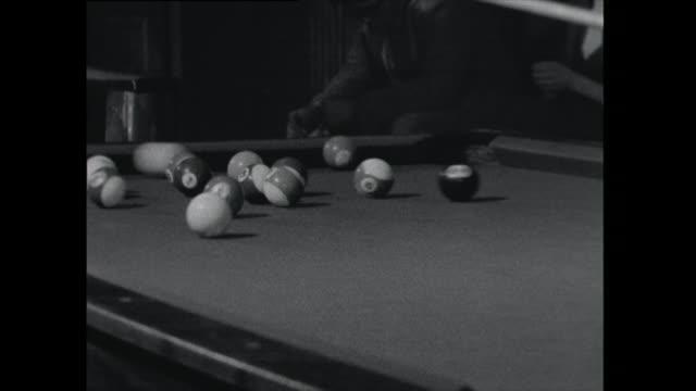 men play pool - 1961 stock videos & royalty-free footage