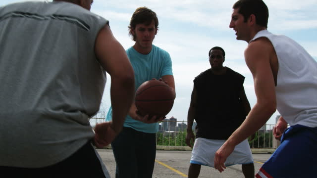 ws tu men playing basketball / salt lake city, utah, usa. - aiming stock videos and b-roll footage