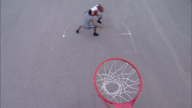 men playing basketball - see other clips from this shoot 1281 stock videos and b-roll footage