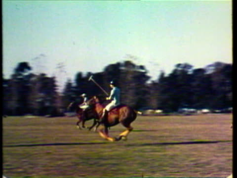 1953 WS MS PAN men playing polo / Argentina / AUDIO