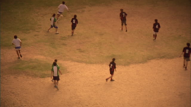 ws, ha, pan, zo, men playing soccer on field, buenos aires, argentina - argentina stock videos & royalty-free footage