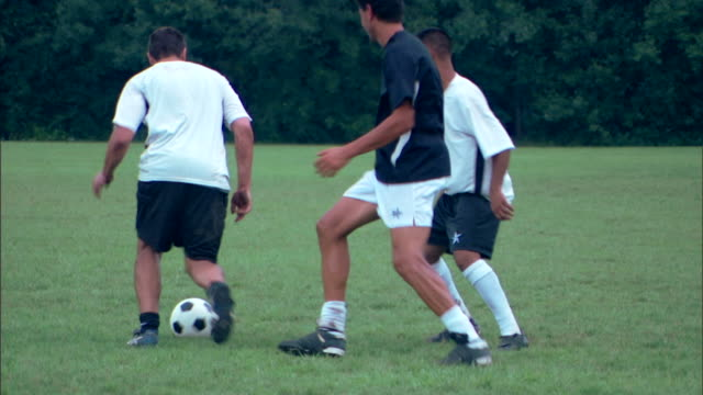 men playing soccer - see other clips from this shoot 1280 stock videos & royalty-free footage