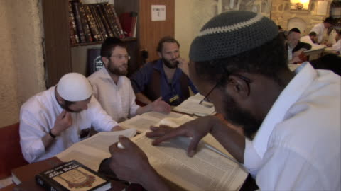 men reading - judaism stock videos & royalty-free footage