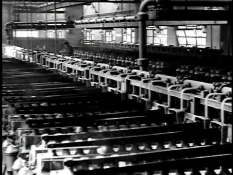 1929 montage men working in refinery /united states - 1929 stock videos & royalty-free footage