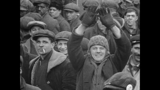 men working in shipyard at hog island, philadelphia - 1910 stock videos & royalty-free footage