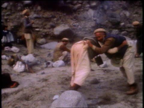 men wrestling and celebrating russian leader's death / peshawar, pakistan - peshawar stock videos & royalty-free footage