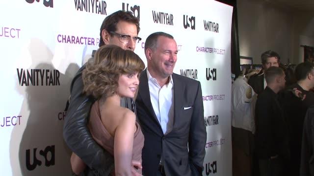 Mena Suvari and Jeff Goldblum at the USA Network and Vanity Fair Celebrate Launch of Character Project at New York NY