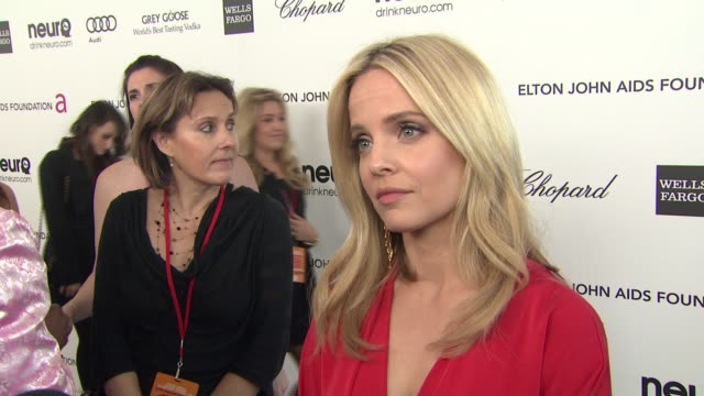 INTERVIEW Mena Suvari at Elton John AIDS Foundation Presents 21st Annual Academy Awards Viewing Party Sponsored By Chopard Neuro Drinks And Wells...