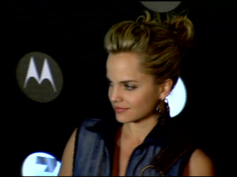 Mena Suvari at the Motorola's Seventh Anniversary Party to Benefit Toys for Tots at American Legion in Hollywood California on November 3 2005