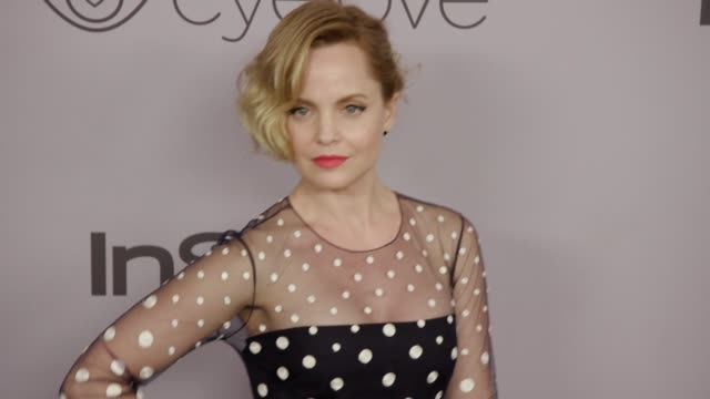 mena suvari at the warner bros. pictures and instyle host 19th annual post-golden globes party at the beverly hilton hotel on january 7, 2018 in... - mena suvari stock videos & royalty-free footage