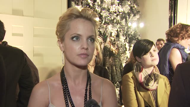 mena suvari on attending tonight's event and on the appeal of burberry. at the burberry beverly hills store re-opening at los angeles ca. - mena suvari stock videos & royalty-free footage