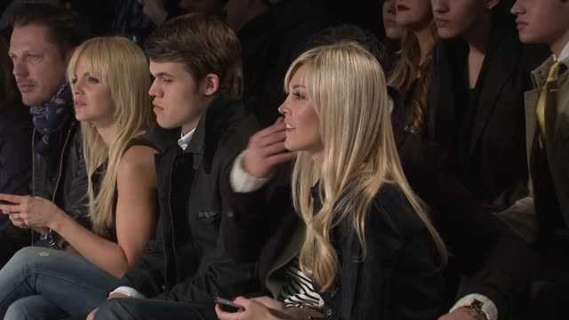 mena suvari, tinsley mortimer attend the g-star raw fall 2011 show during mercedes-benz fashion week fall 2011 at the g-star raw - fall 2011 mbfw at... - mena suvari stock videos & royalty-free footage