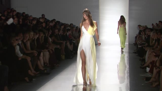stockvideo's en b-roll-footage met j mendel spring 2012 mercedesbenz fashion week new york ny united states - geproduceerd segment