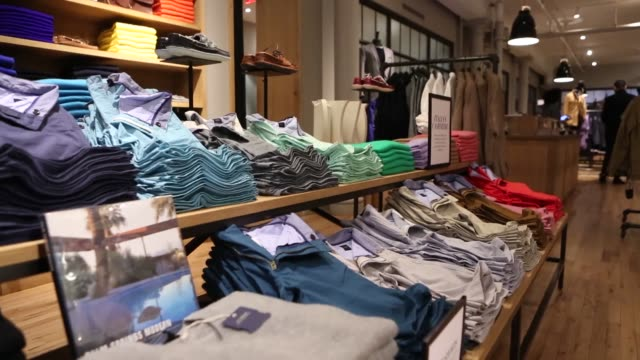 Men's Clothing Designer Clothing J Crew Store Spring Collection on February 11 2013 in New York New York