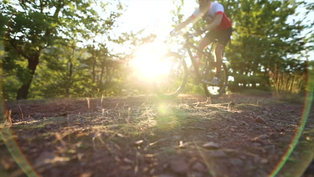 men's cycling team mountain riding - mountain biking stock videos & royalty-free footage