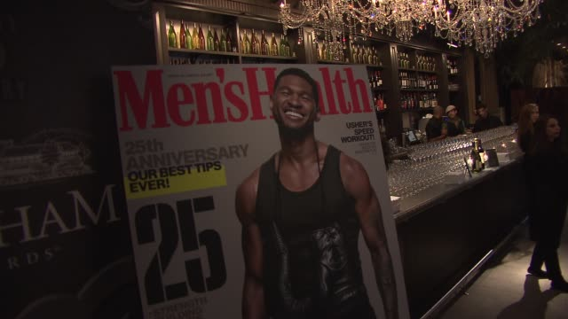 CHYRON Men's Health Celebrates 25th Anniversary at Isola Mondrian Soho Hotel on October 09 2013 in New York New York