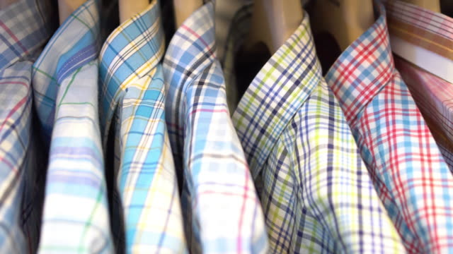 men's shirts - folded stock videos & royalty-free footage