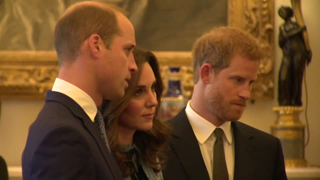 buckingham palace reception england london buckingham palace photography *** guests at reception mingling including stephen fry prince william duke... - prince william stock videos & royalty-free footage