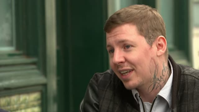 Celebrities join Duke and Duchess of Cambridge's Heads Together campaign ENGLAND London EXT Professor Green interview SOT