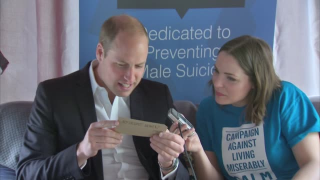 Duke and Duchess of Cambridge and Prince Harry help launch Heads Together project ENGLAND London Stratford INT General views of Prince William Duke...