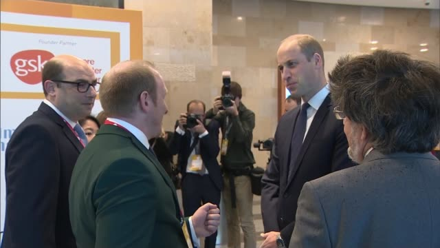 Prince William addresses 'This Can Happen' conference UK London Prince William Duke of Cambridge addresses This Can Happen conference on mental...