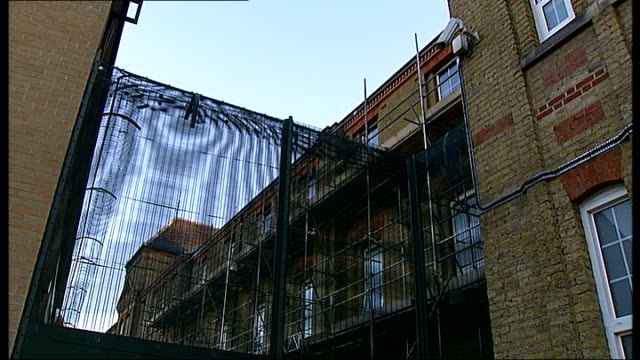 mental health worker charged after killer's escape homerton john howard centre gvs security fences surrounding john howard centre gv nhs sign for... - surrounding stock videos & royalty-free footage