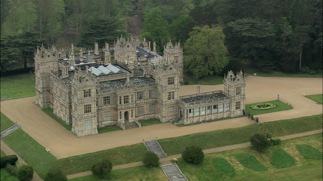 mentmore house - tower stock-videos und b-roll-filmmaterial