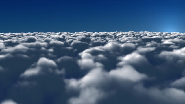 Mer de nuages / FLIGHT THROUGH CLOUDS - LOOP