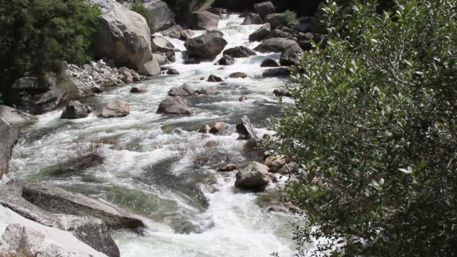 Merced River slide