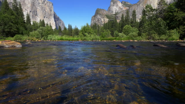 merced river - merced river stock videos & royalty-free footage