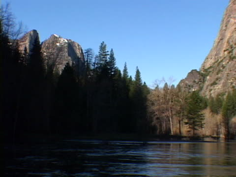 merced river, yosemite nat pk - upper yosemite falls stock videos & royalty-free footage